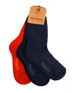 Wool Jr Sock 3-P