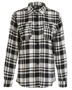 Flannel M Checked LS Shirt