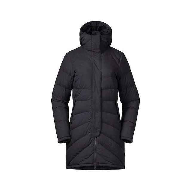 W Oslo Down Light Coat w/Hood