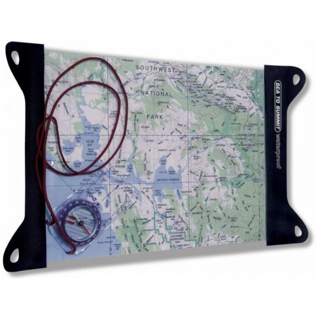 TPU Guide Map Case, Large