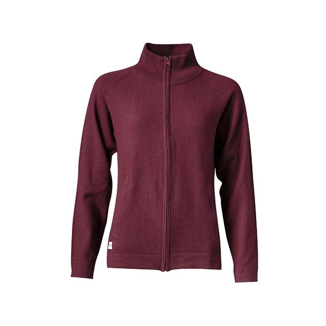W Merino Full Zip Jacket