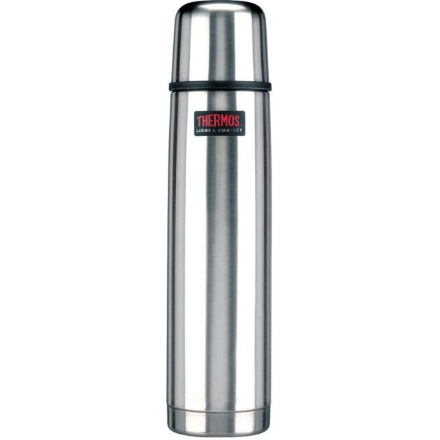 Stålthermos light & compact 1 L